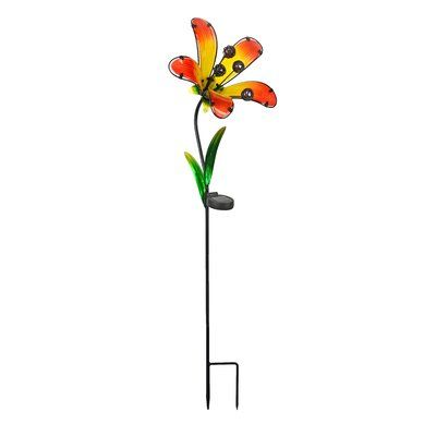 RCS Gifts Petal Garden Stake (Set of 2) Color: