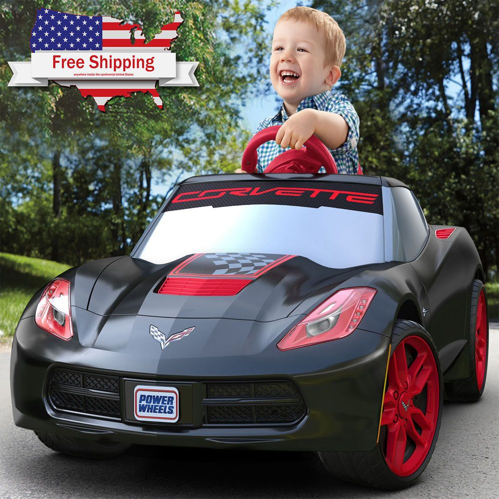 Like Its Sized Version The Wheels Corvette Battery Ed Ride On Is Engineered To Be Sleek Sporty And Envy Of Neighborhood