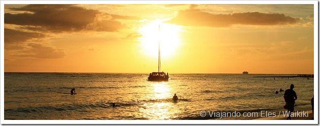O que fazer em Waikiki - Conheca a mais agitada praia do Havai