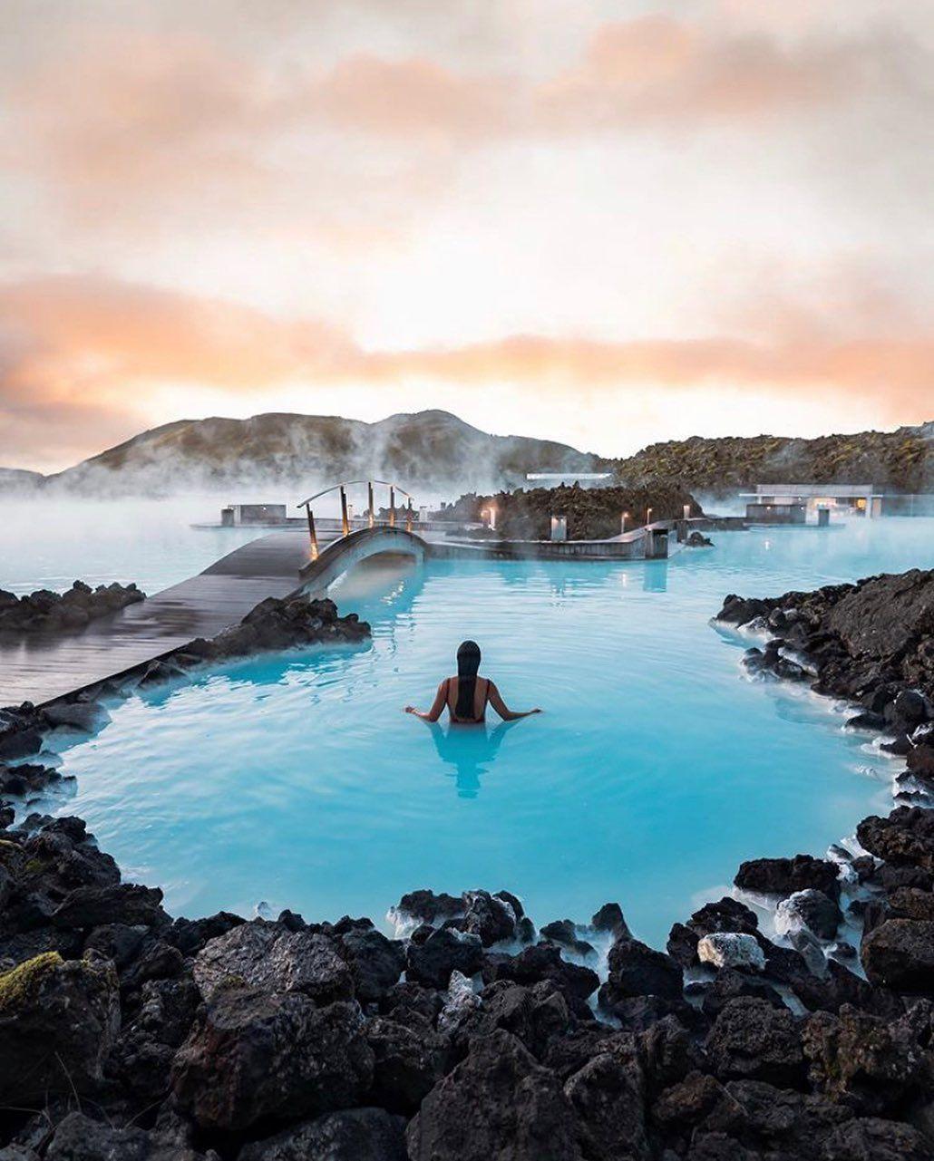 Iceland Hot Springs 📸 @tiffpenguin