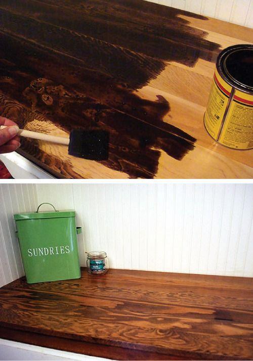 Make Your Own Wood Countertops Wood Countertops Wooden Bathroom