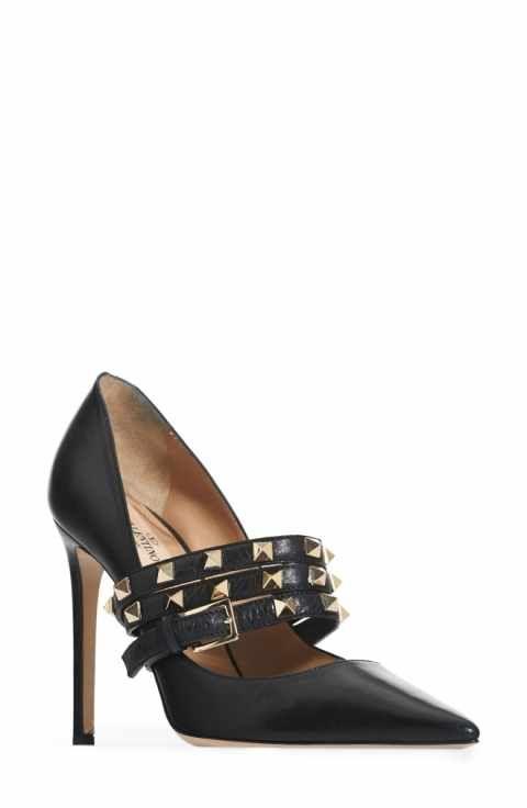 7156a89442035 VALENTINO GARAVANI Rockstud Wrap Pump (Women) | Shoes | Valentino ...