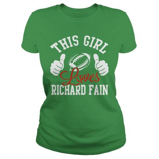 Cool Richard Fain Patrick's Day Irish Shamrock T shirts