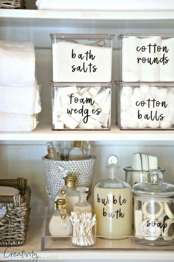 Free DIY Printable Organizing Labels That You Can Type In And Edit Your Own  Textu2026