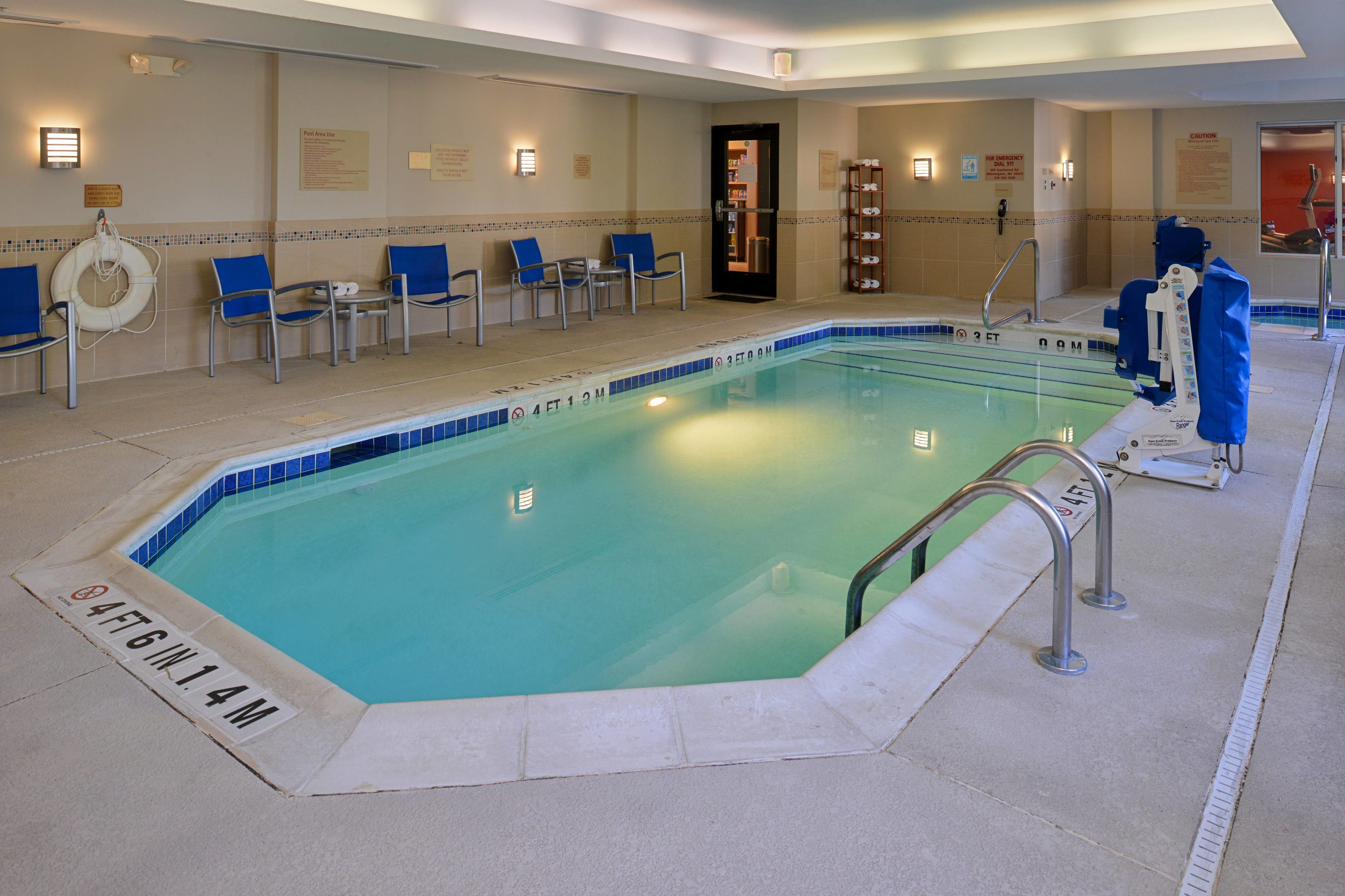 TownePlace Suites Wilmington/Wrightsville Beach Indoor Pool ...