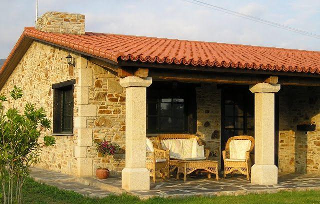 Construcciones r sticas gallegas porches casas con porche house design house y porch - Rusticas gallegas ...