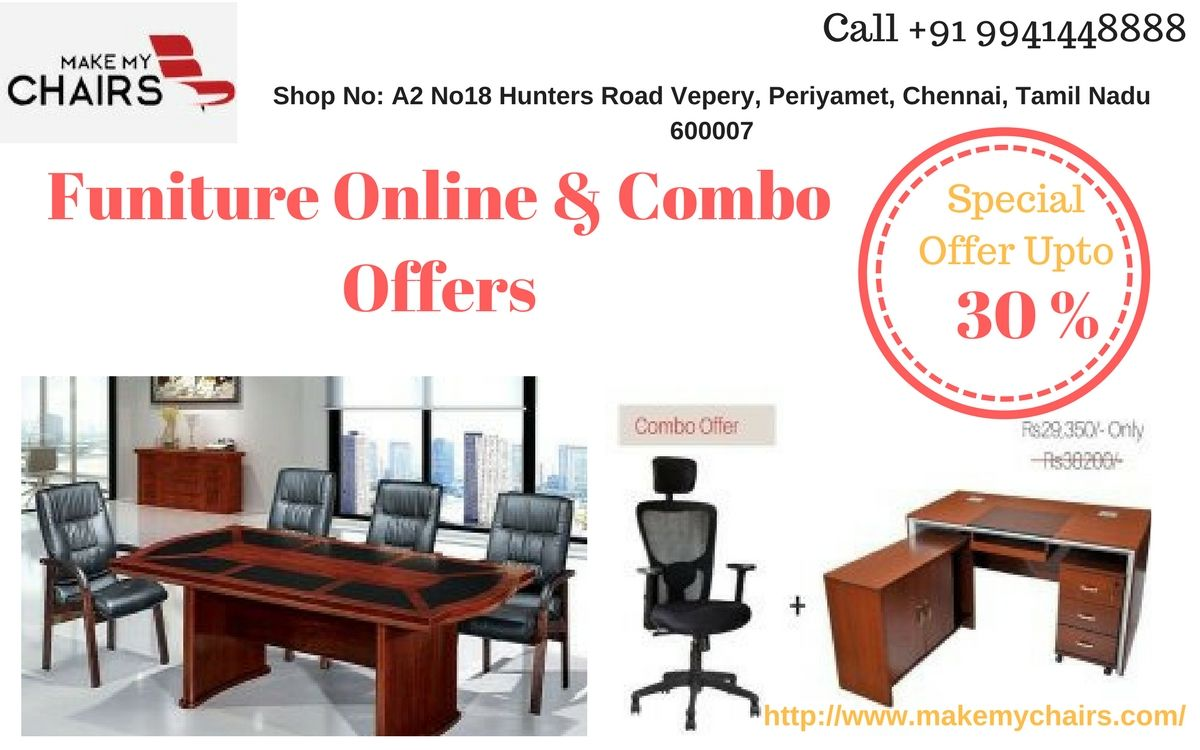 Buy online at best offer on Office Chairs, Office Desk