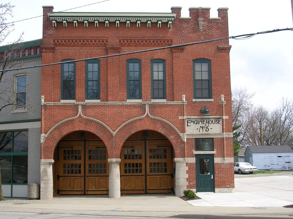 Colonial Homes In Fort Wayne : Old engine house no in fort wayne other historic