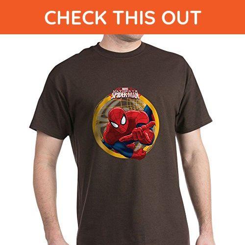 CafePress - Spiderman - 100% Cotton T-Shirt - Superheroes shirts ( Amazon 247fbe3db