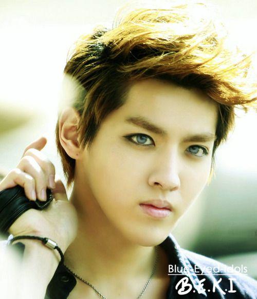 Blue Eyed K Pop Idols 156 Wufan Kris Exo M Kris Exo Korean Idol Exo