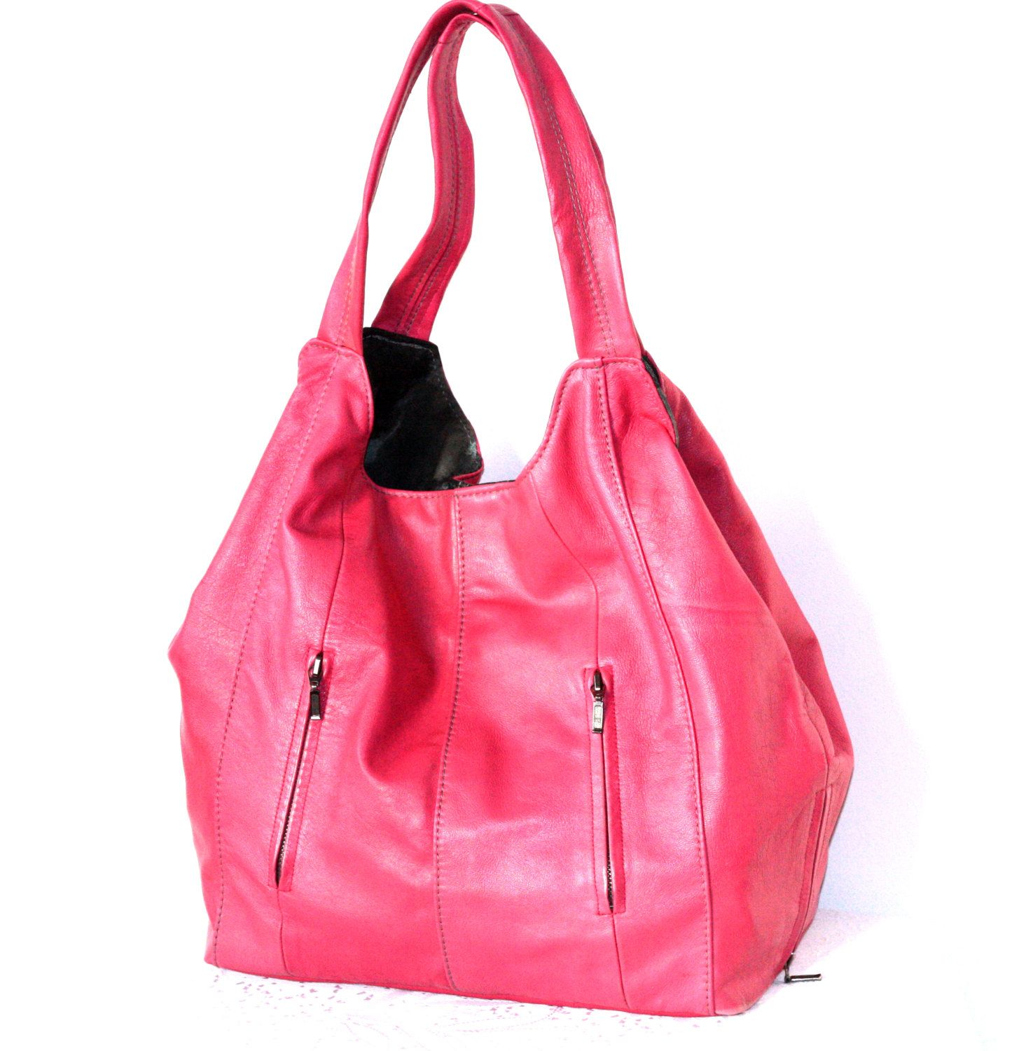 72572945a11a Handmade Large Leather Bag