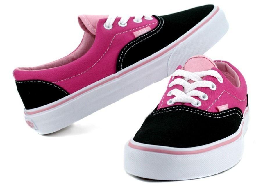 c090ce45e70 Tenis-Vans-feminino-em-rosa-e-preto