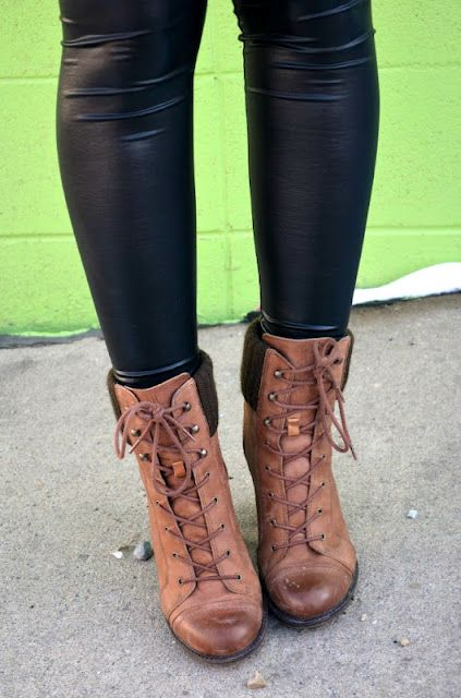 I personally own 2 pairs of leather leggings...that might be excessive, but I really do wear them!