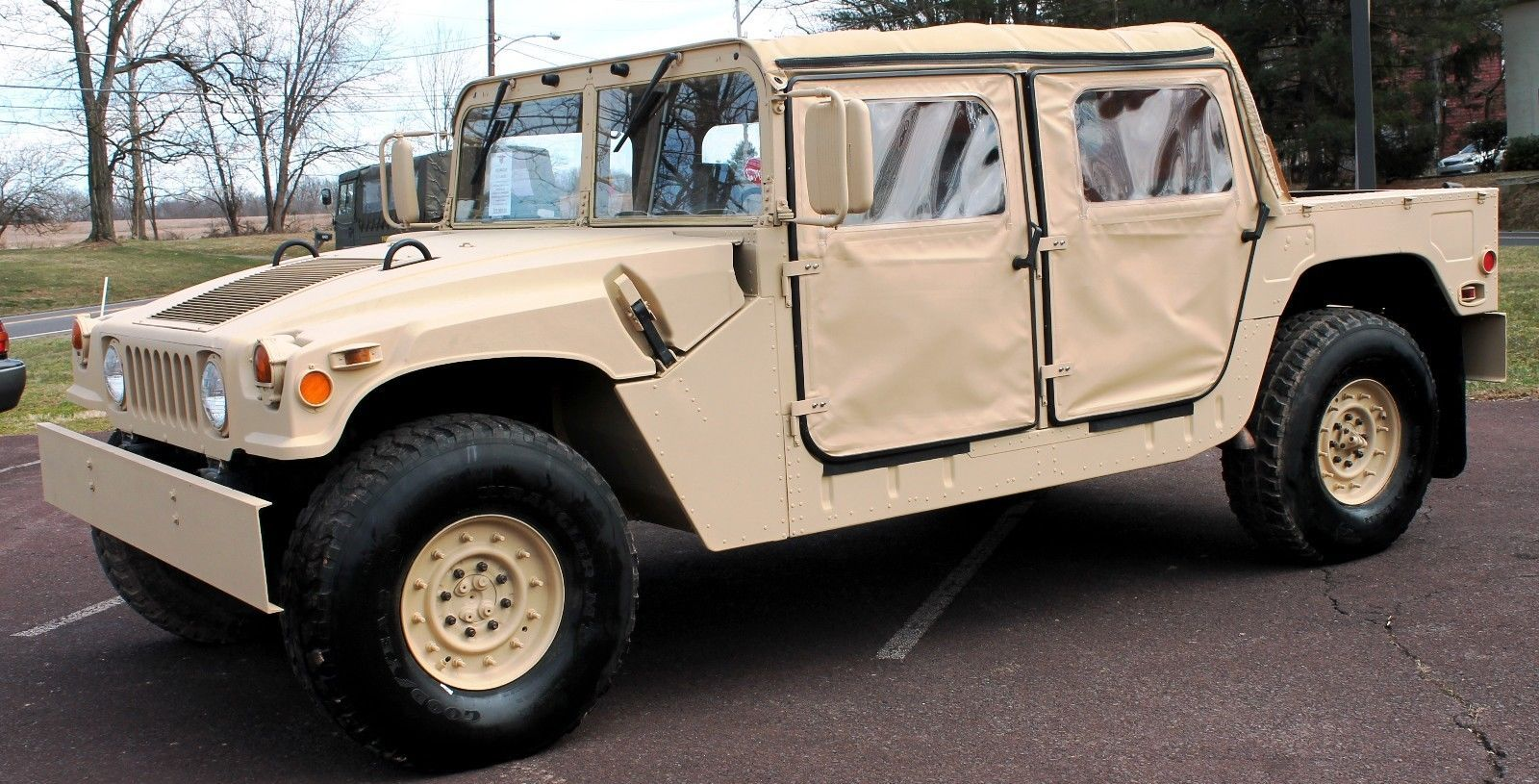 cool Great 1991 Hummer H1 M1 1991 HUMMER-HUMVEE H1 GENERAL MILITARY OPEN  RESTORED W/CLEAR PA. REG. 2017 2018