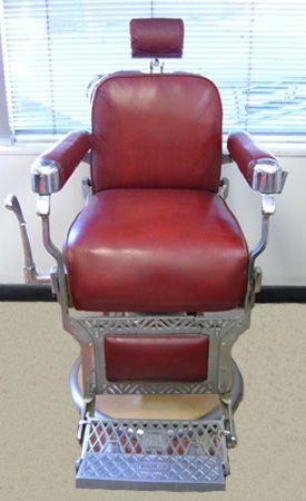 red vintage barber chair barbershop retro barbershop chairs