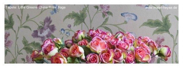 Little greene china rose sage sch ne r ume interior for Farben und tapeten