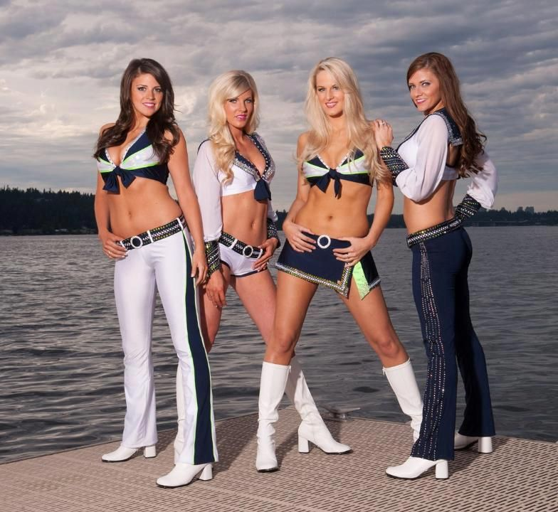 04d8f0ae Sea Gals from the Seattle Seahawks | Seattle Seahawks my official ...