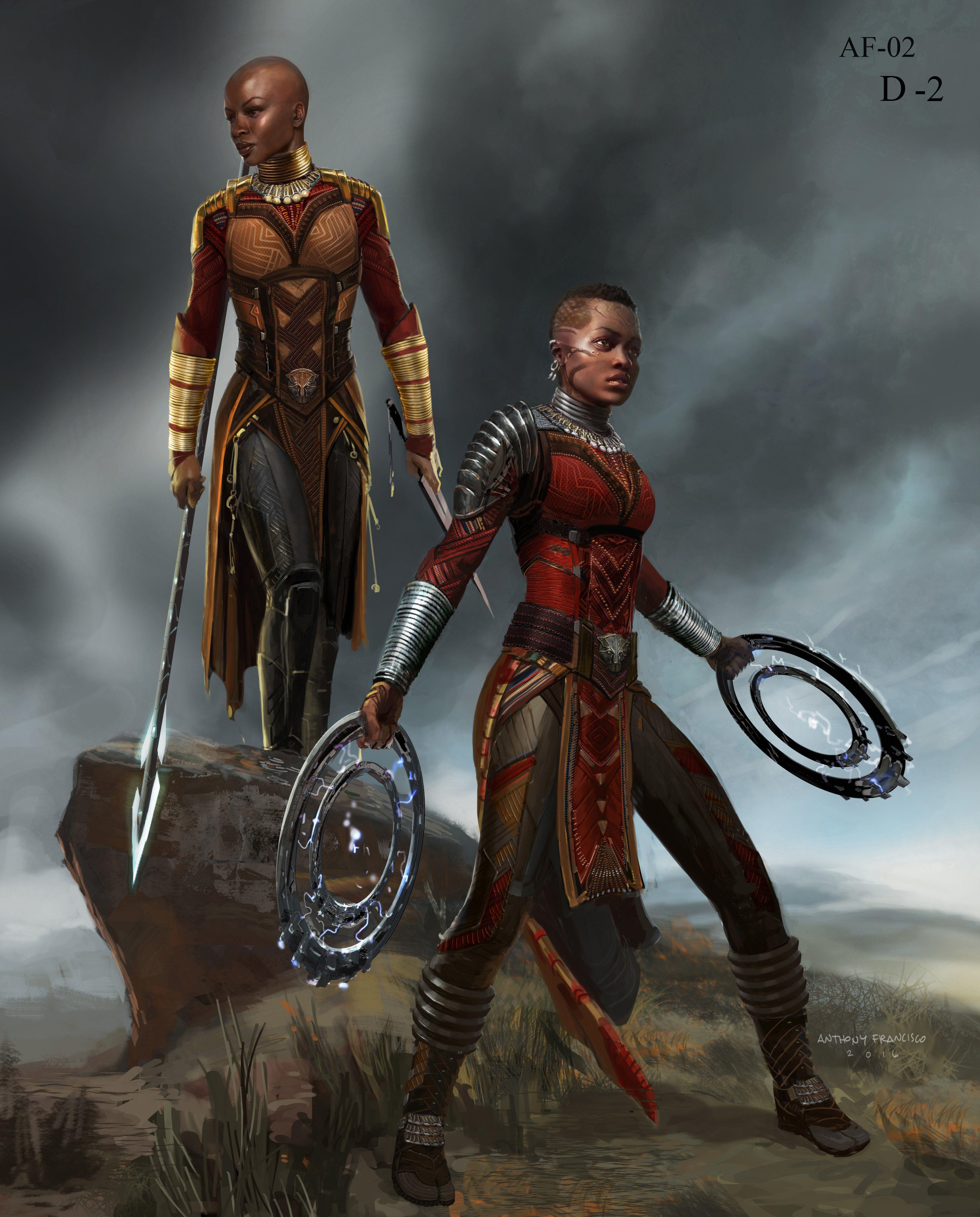 Concept Art For Avengers