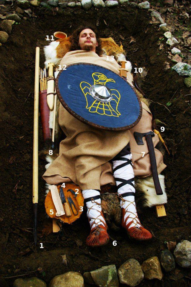 Rievocazione longobarda rito funebre longobardo sepoltura longobarda funerale longobardo Rievocazione Longobarda