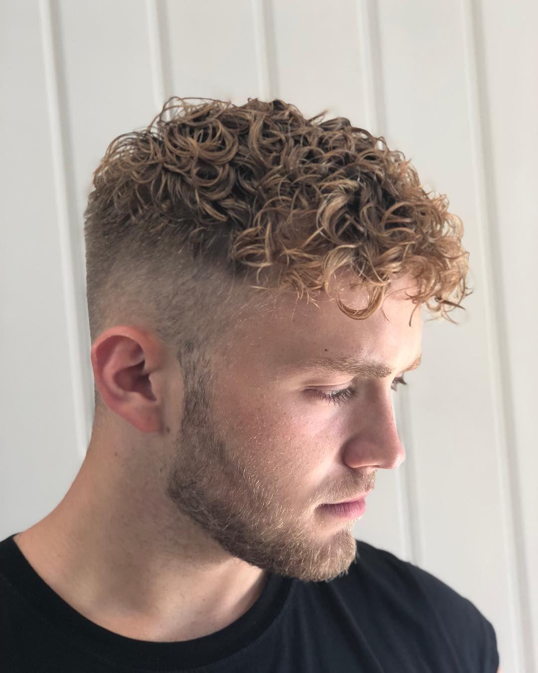 Refreshing @oscar.mcmillan perm 😺 \u2022 perm curls manperm
