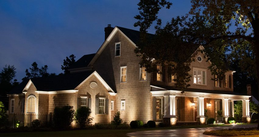 Image Result For Uplighting Exterior House House Exterior House