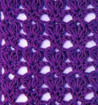 tulip crochet stitch - Cerca con Google