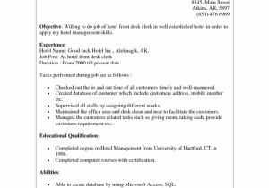 Trade Support Resume Skilled Labor Examples Sainde Org Hotel Front