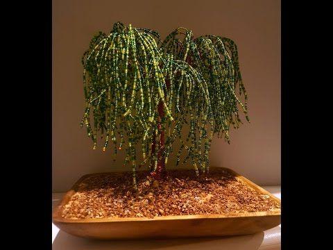 arbol bonsai artificial y ramitas de mostacilla - YouTube