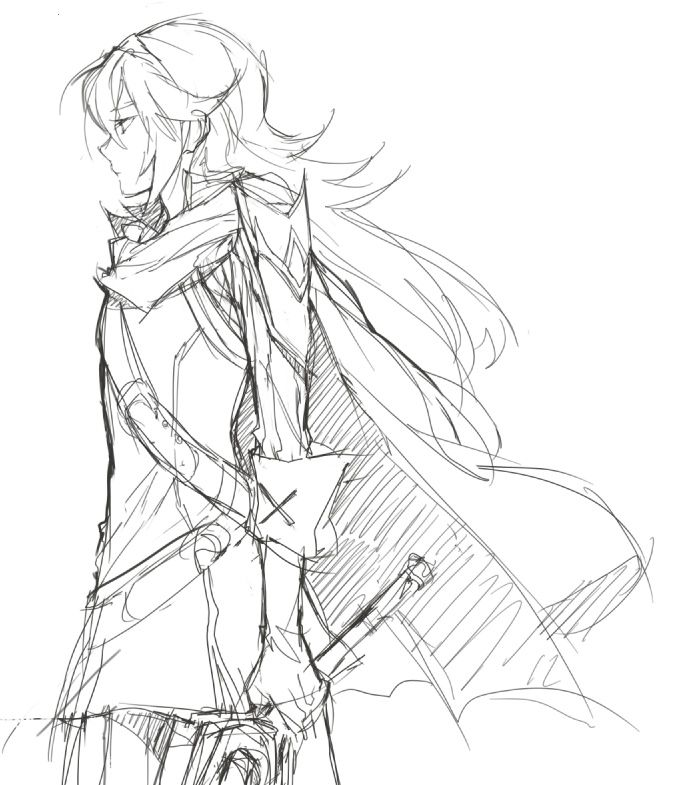 Love this drawing of Lucina!