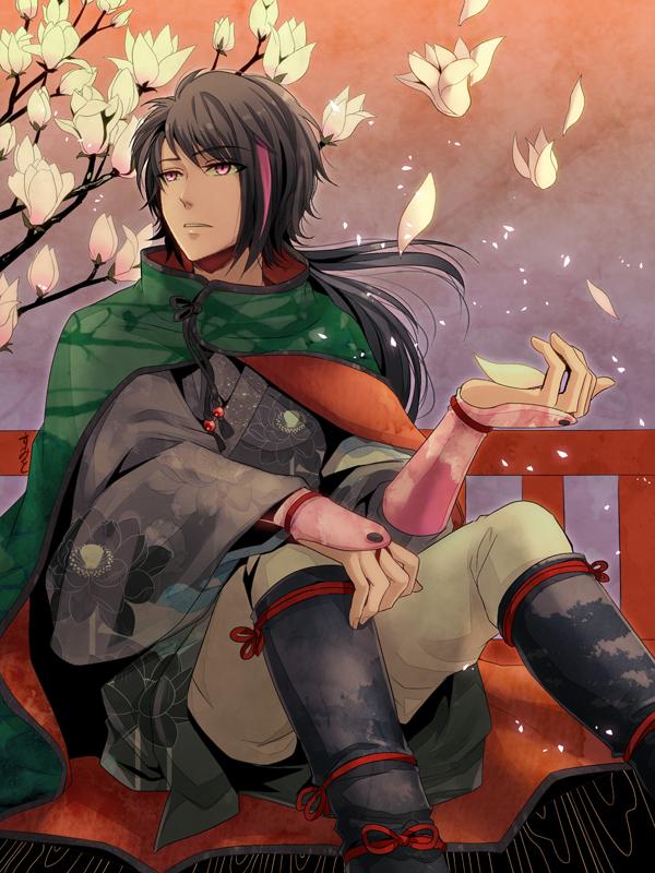 Japanese style REN Rwby, Rwby characters, Rwby ren