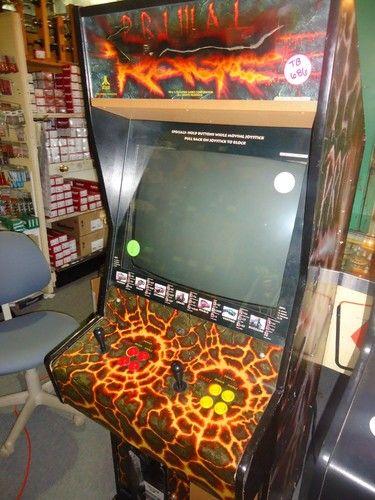 primal rage arcade cabinet
