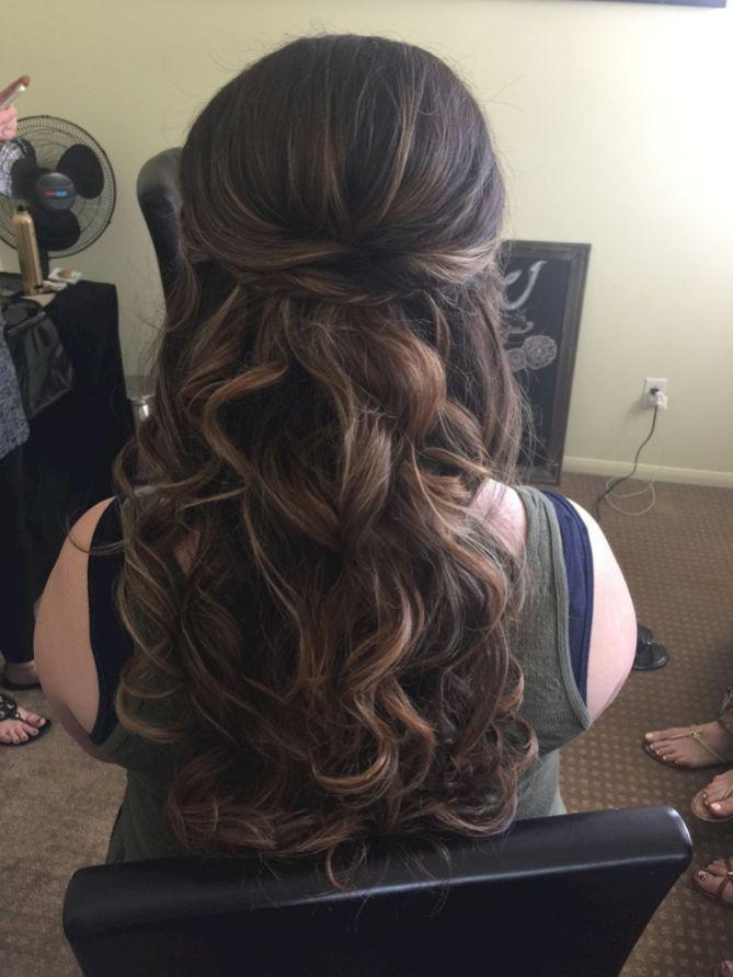 Stunning half up half down wedding hairstyles ideas no 19 | Wedding ...