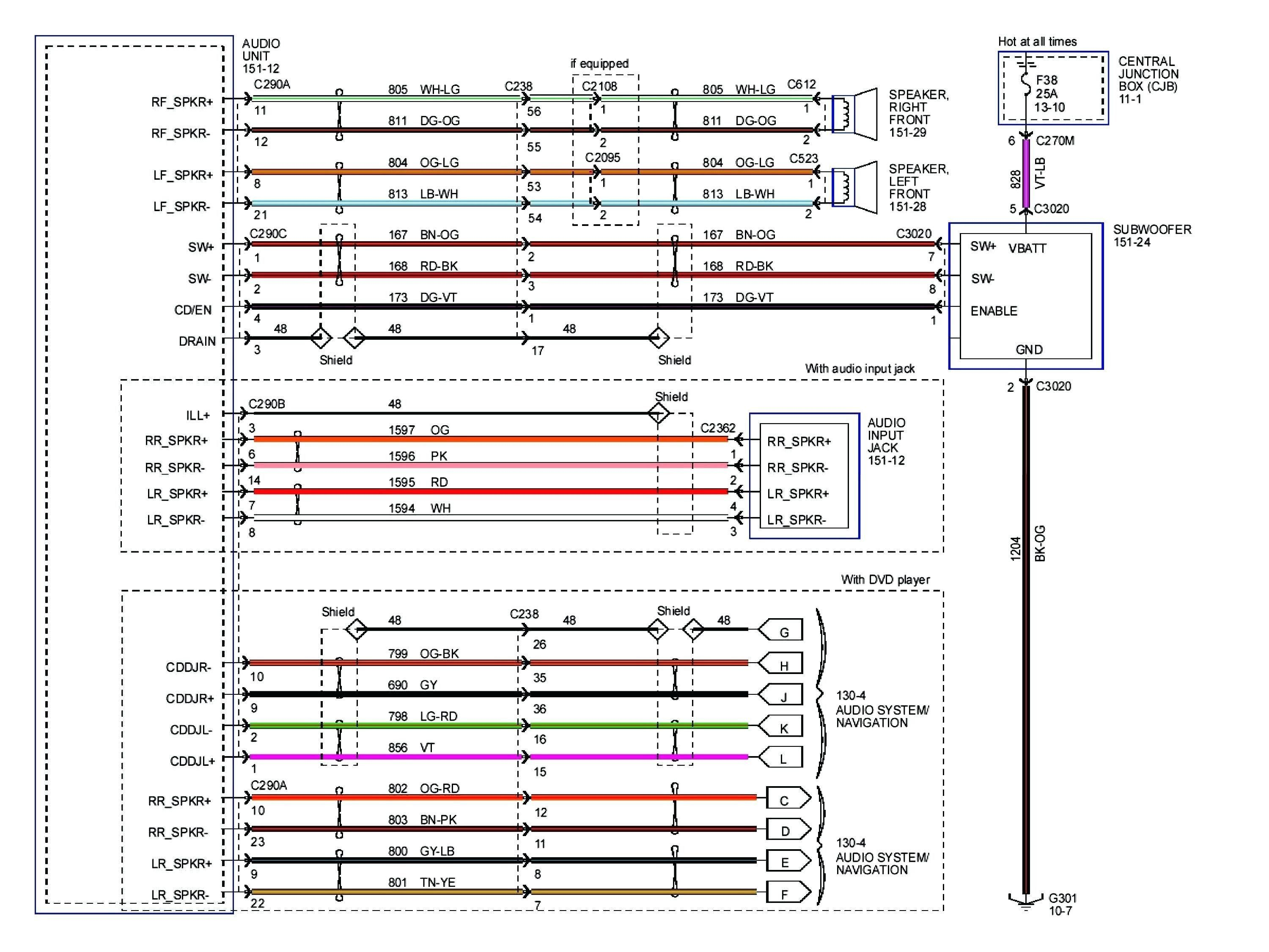2006 Volkswagen Radio Wiring Diagram With 2001 Jeep Wrangler ... on