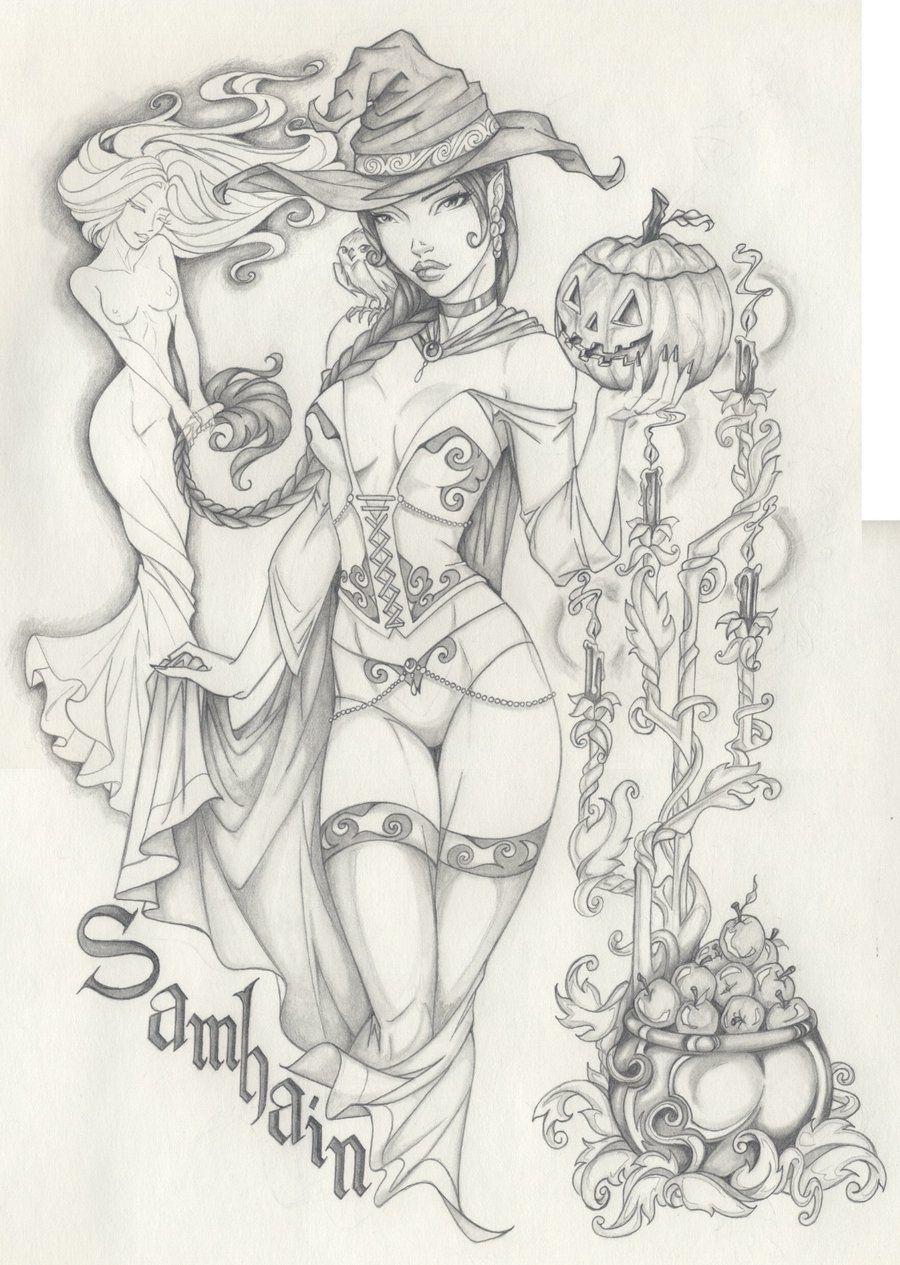 samhain holiday by anyae deviantart com on deviantart draw it 1