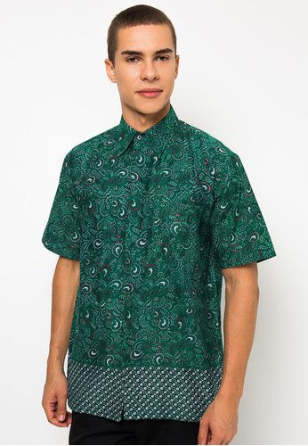 Model Baju Batik Pria Formal Model Baju Batik Terbaru Mens Tops