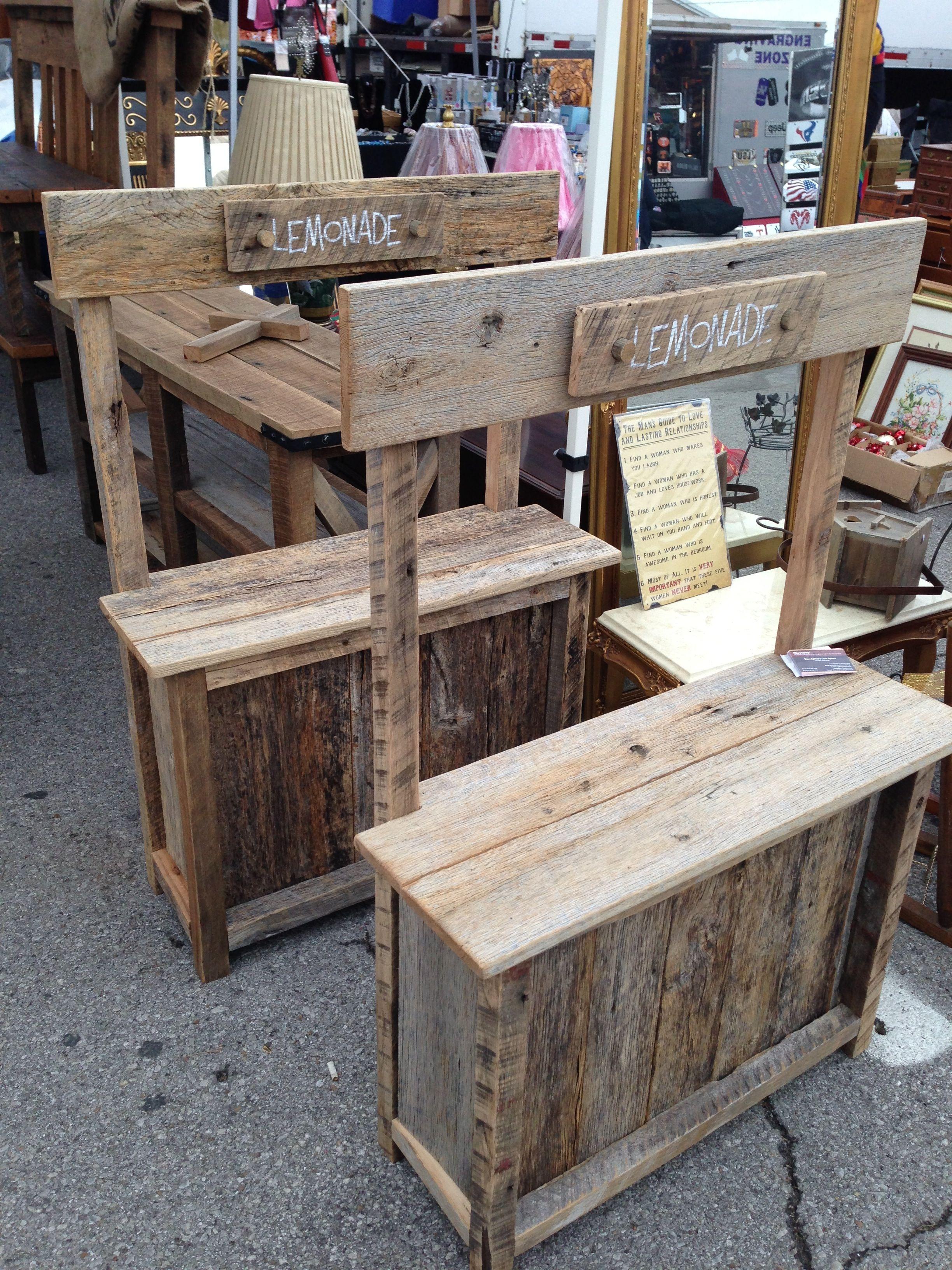 Lemonade Stands Kids 125 Furniture Holz