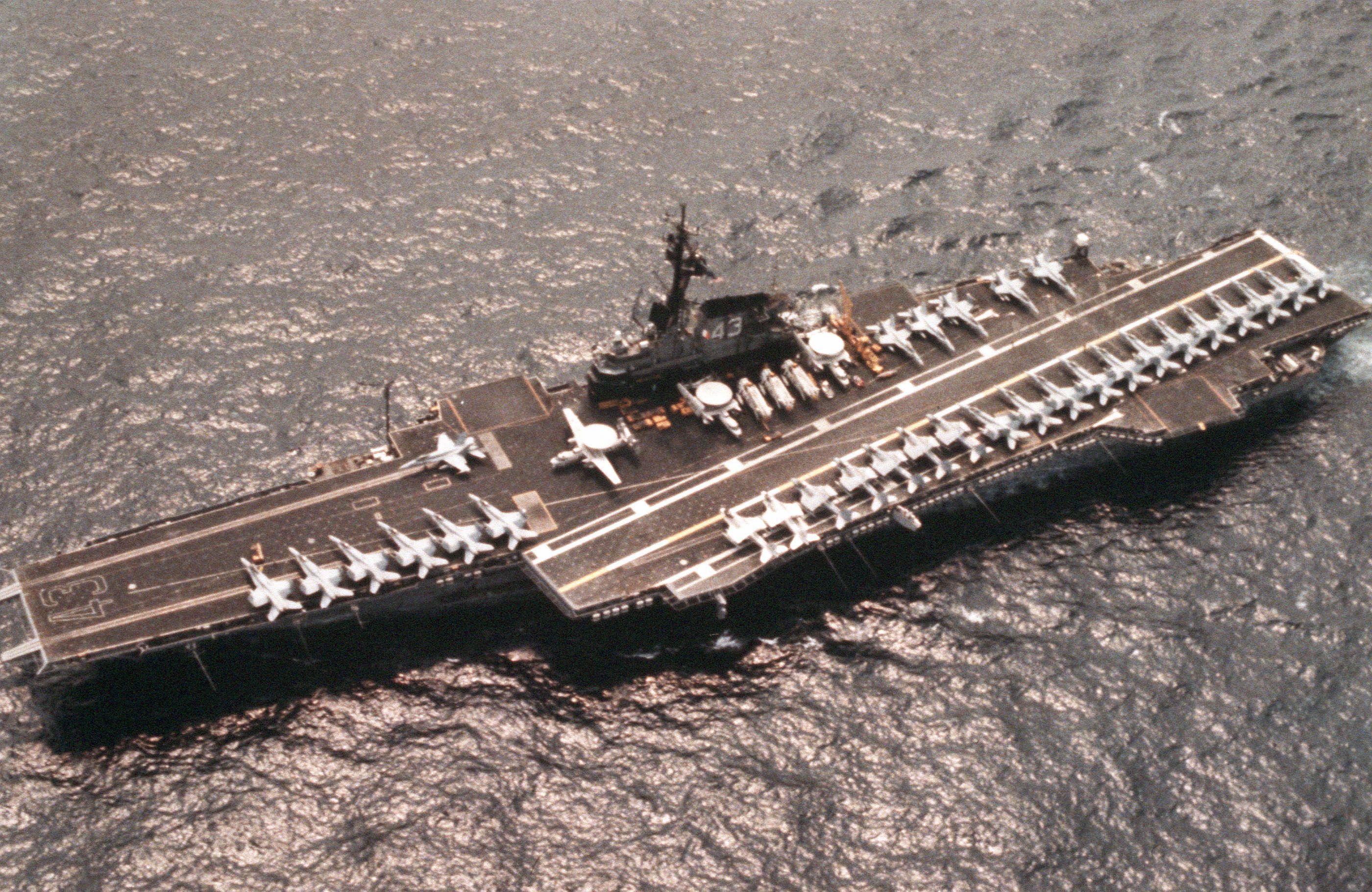 Military USS PHILIPPINE SEA CV-47 Battleship Polo Shirt