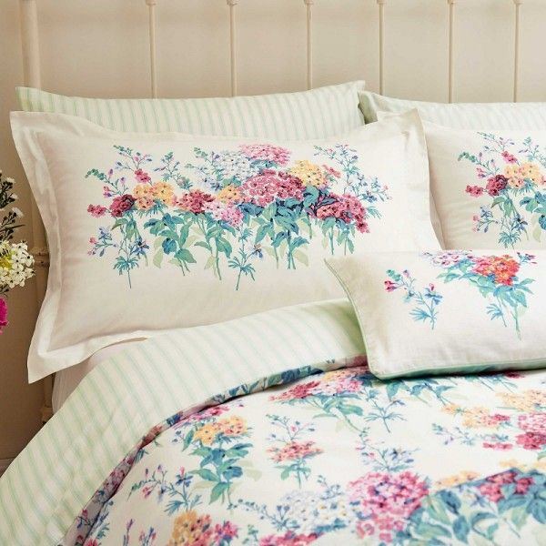 Sanderson Sweet Williams Bedding Duvet Cover Set