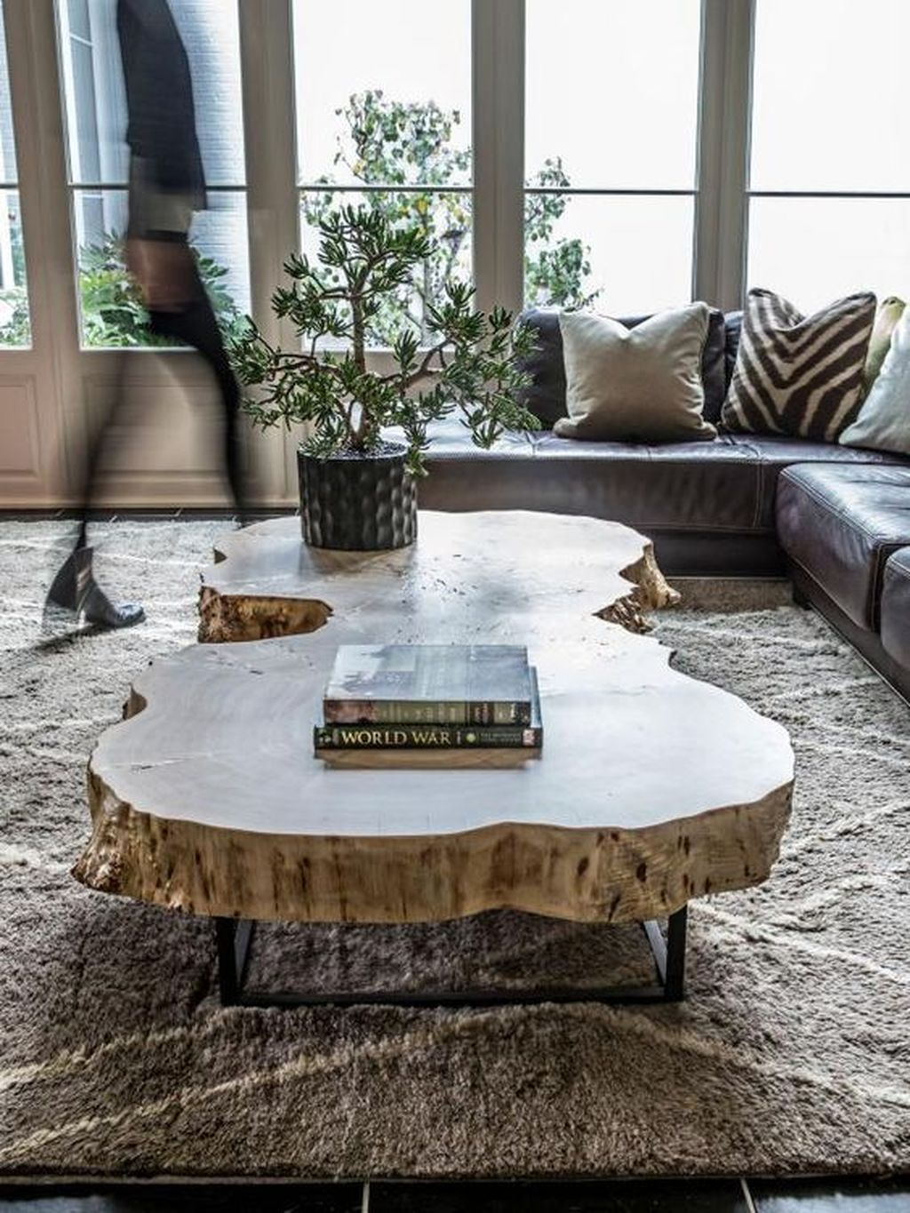 42 Awesome Wooden Coffee Table Design Ideas Homyhomee Wooden Coffee Table Designs Coffee Table Design Coffee Table Farmhouse [ 1365 x 1024 Pixel ]