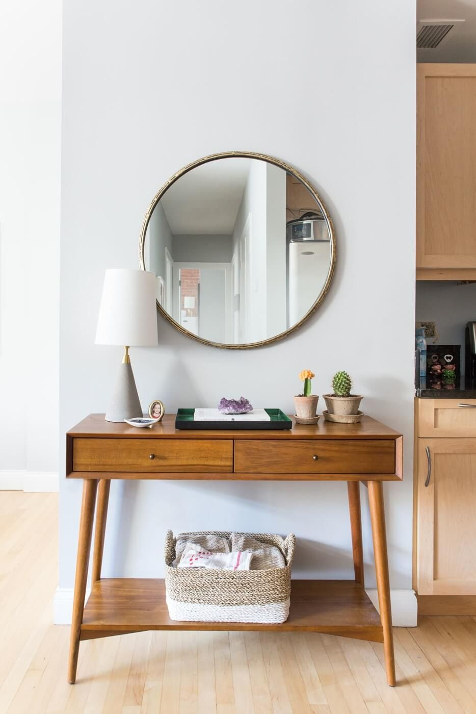 Spotted The Mid Century Console From West Elm Interior Design I