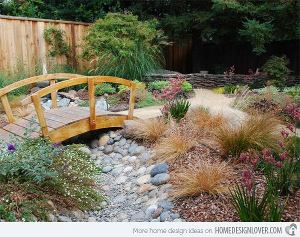 15 Whimsical Wooden Garden Bridges Backyard Bridges Garden