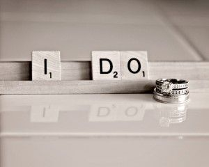 Wedding Photography ideas #wedding #photography #scrabble