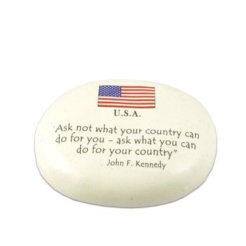 John F Kennedy Ask Not Quote Paperweight Paper Weights Quotes