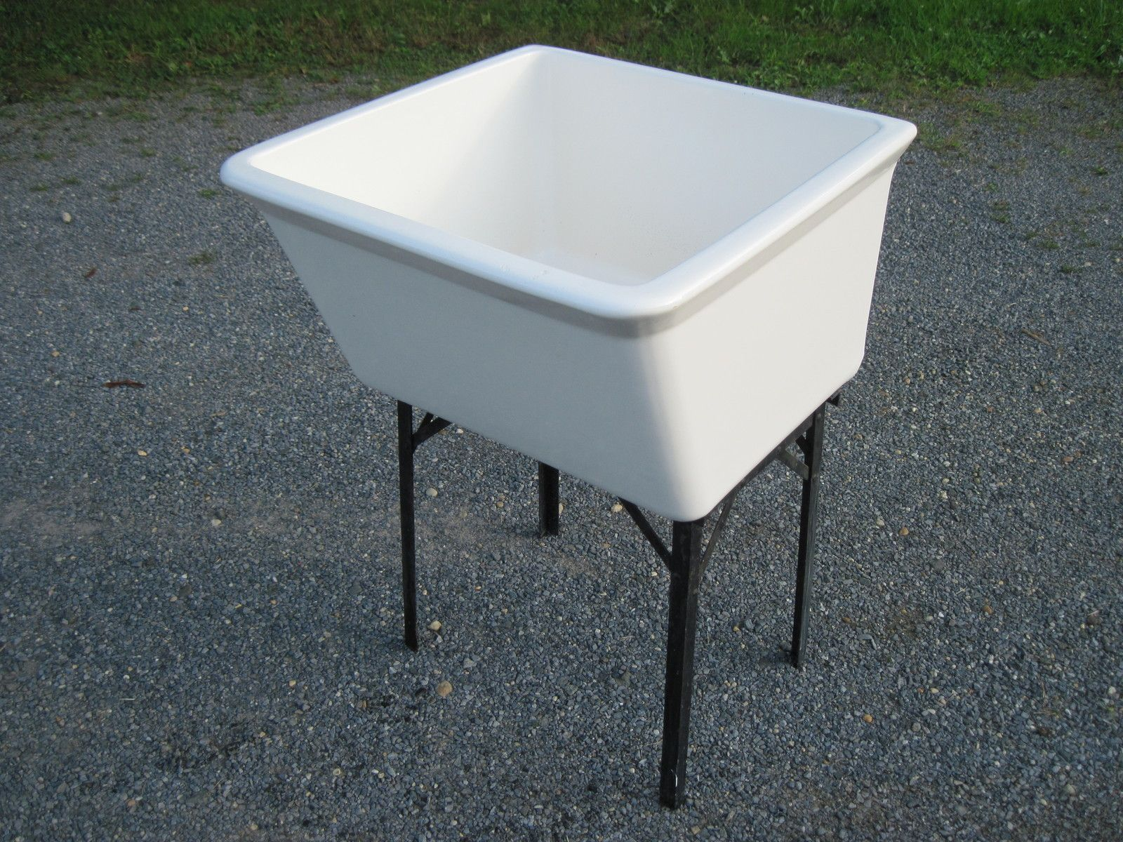 High Quality Laundry: Antique Vintage U0027Fordsu0027 Porcelain Utility Sink 1960u0027s | EBay