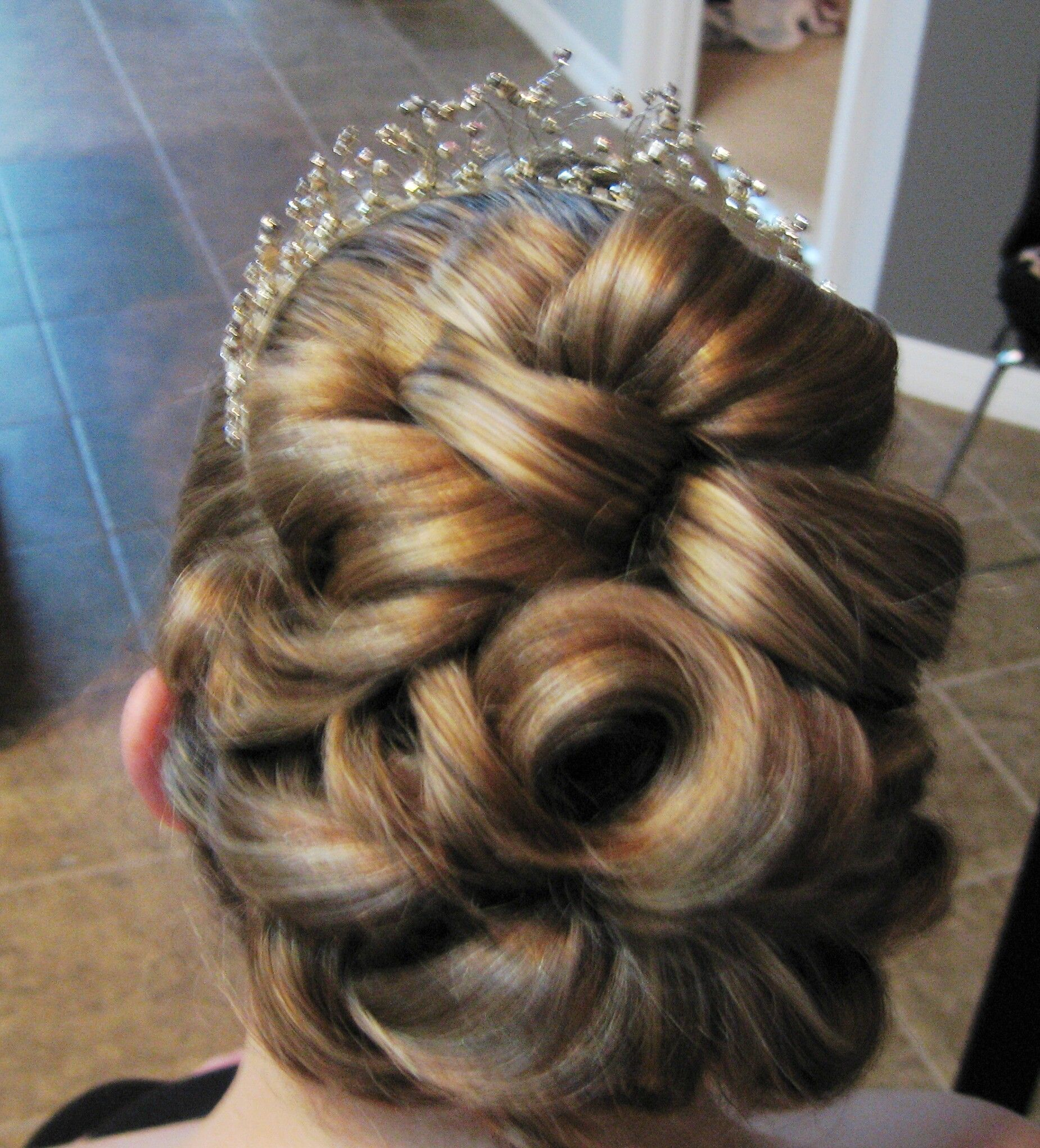 Woven Barrel Curls By Peggy Festerling Wedding Hair And