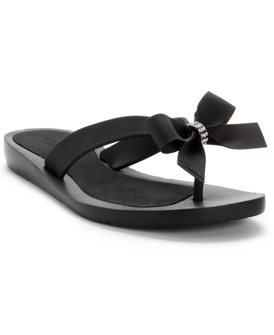 3761d0a64ed40 Guess Tutu Bow Flip Flops