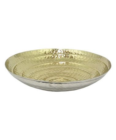 Gold Decorative Bowl Look At This #zulilyfind Silver & Gold Decorative Bowl