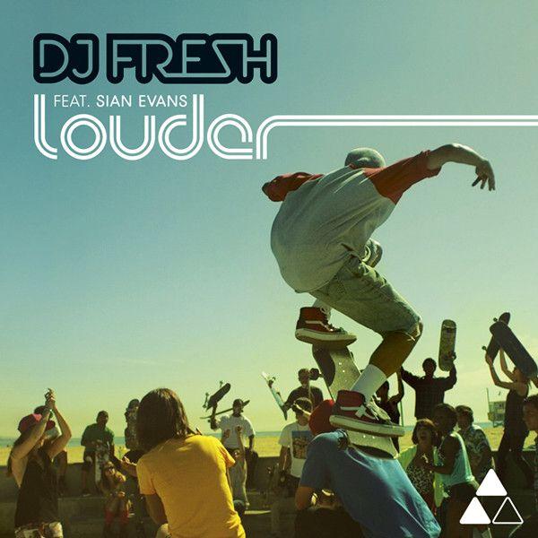DJ Fresh, Sian Evans – Louder (single cover art)