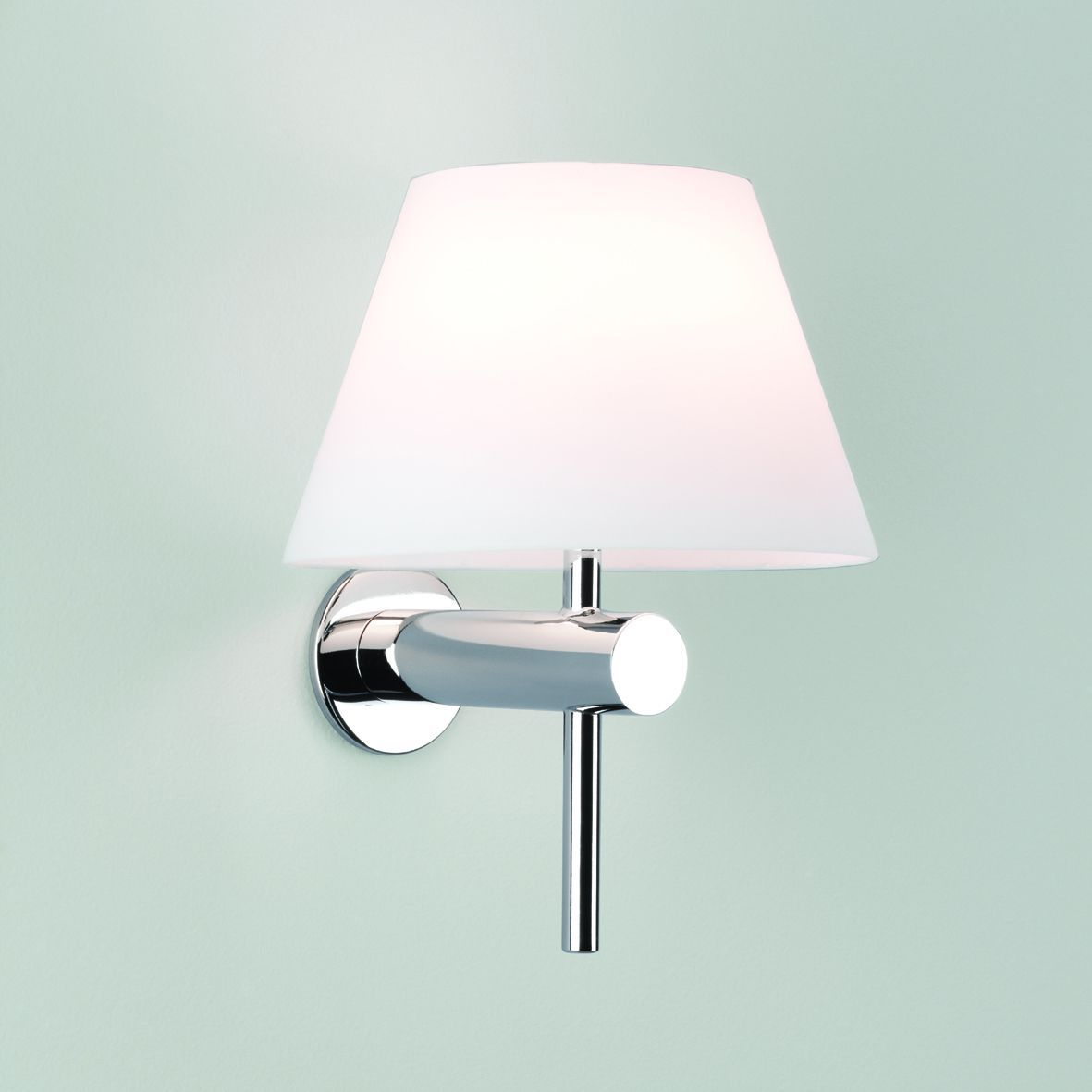Bathroom wall light with coolie shade eclectic beach pinterest