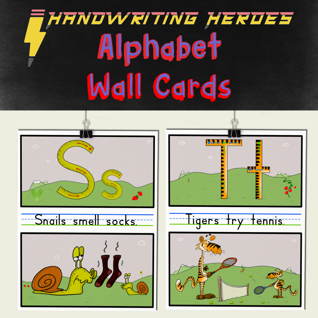 Alphabet Wall Cards